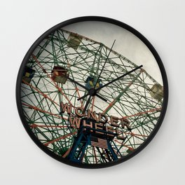 Coney Island Wonder Wheel Wall Clock