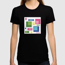 Greenery Retro Pattern T-shirt
