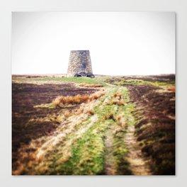 Northumberland Lead Flue Canvas Print