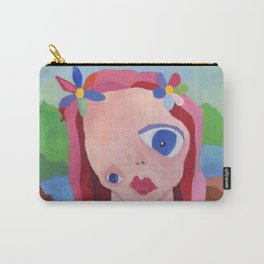 Mona Lisa Gets a Makeover Carry-All Pouch