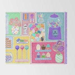 Sweets & Treats Throw Blanket