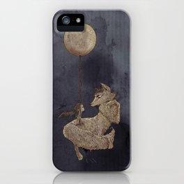 The Moon Fox iPhone Case