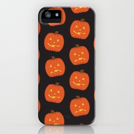 Spoopy Pattern iPhone Case