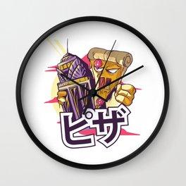 Pizza Kong Manga Comic Monster Japan Wall Clock