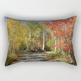Autumn Trail Divide Rectangular Pillow