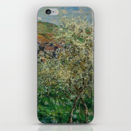 Plum Trees in Blossom iPhone Skin