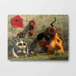 GasTon and Tento Metal Print