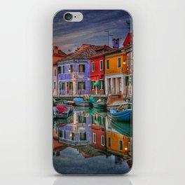 Burano Venice Italy iPhone Skin