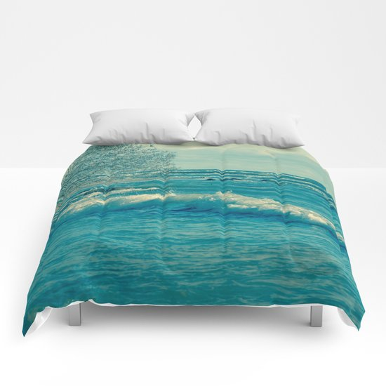 Troubled Waters Comforters
