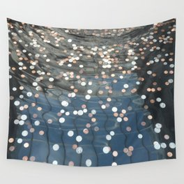 New York Pennies Wall Tapestry