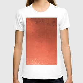 Ruby red with micro gold. T-shirt
