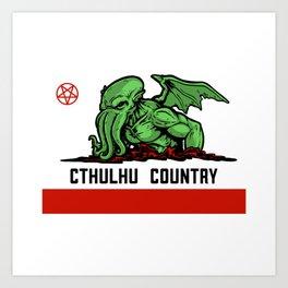 Cthulhu Country Art Print