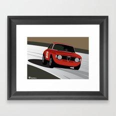 Magnificent Giulia Framed Art Print
