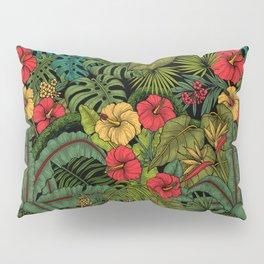 Tropical garden Pillow Sham