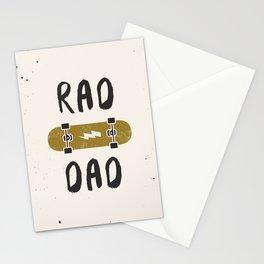 Rad Dad Stationery Cards