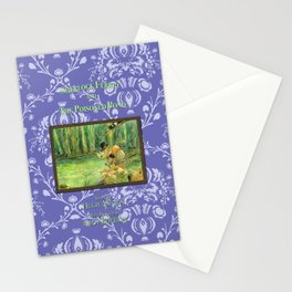 Sherlock Ferret and the Poisoned Pond (cover) Stationery Cards