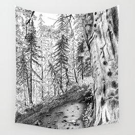 On the Trail Wall Tapestry