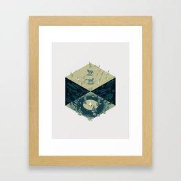 Cube 06 Framed Art Print