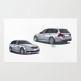 BMW 3-series touring combo. Rug