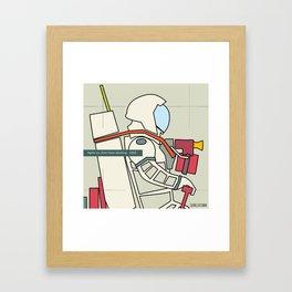 Astronaut 1969 Framed Art Print