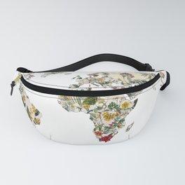 Vintage Botanical World Fanny Pack