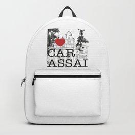 CARASSAI Chiesa del Buon Gesù Backpack