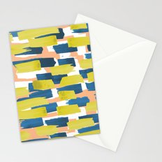 beach stripe Stationery Cards