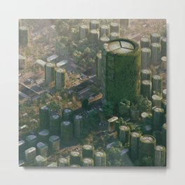 Chip City Metal Print