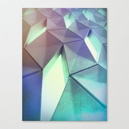 Dark Pastel by Brian Vegas Canvas Print