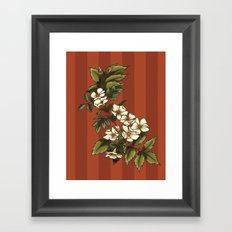 Vintage Flower (3) Framed Art Print