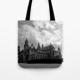 Kelvingrove Art Galleries and Museum b/w Tote Bag