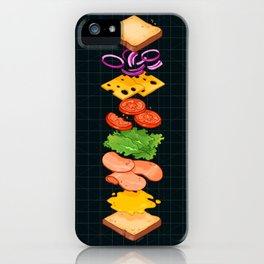 SANDWICH EXTRACTED iPhone Case