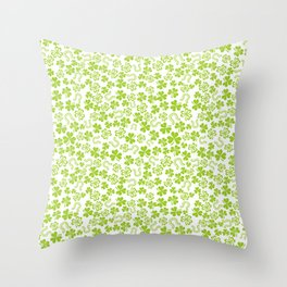 Lucky pattern Throw Pillow