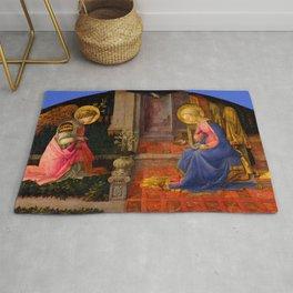 "Fra Filippo Lippi ""Annunciation"" Rug"