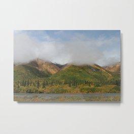 Adventurous Alaska Metal Print