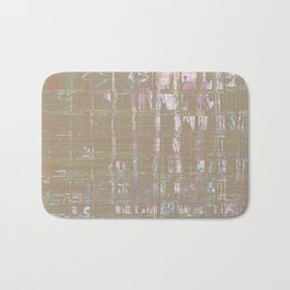 Shiny abstract design look on weird tiles looking background Bath Mat