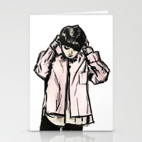 RUN BTS JUNGKOOK Stationery Cards