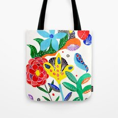 Dreaming in the garden Tote Bag