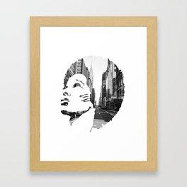 Surimpression Framed Art Print