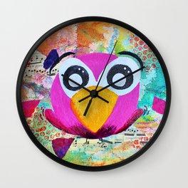 Franco - Quirky Bird Series Wall Clock