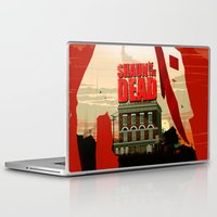 shaun of the dead Laptop & iPad Skins featuring Shaun Of The Dead by Duke Dastardly