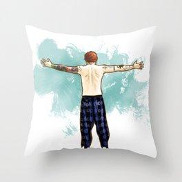 Tenerife Sea Throw Pillow