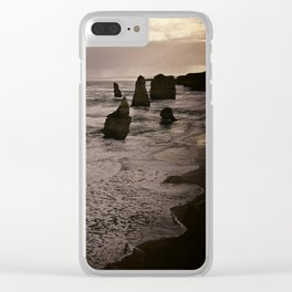 Twelve Apostles Clear iPhone Case