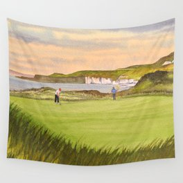 Royal Portrush Golf Course 5th Hole Wall Tapestry