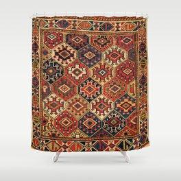 Shahsavan Northwest Persian Azerbaijan Bag Face Print Shower Curtain
