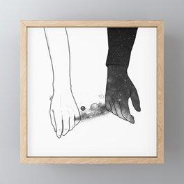 Souls talks first. Framed Mini Art Print