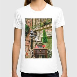 Antique Fireplace Decor T-shirt