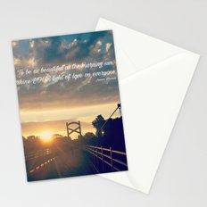 Light Of Love Stationery Cards