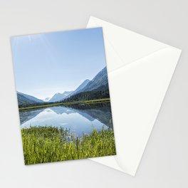 Alaska Summer Light on Tern Lake Stationery Cards
