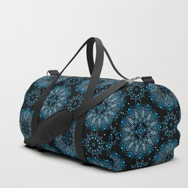 Winter night . Ornamen Duffle Bag